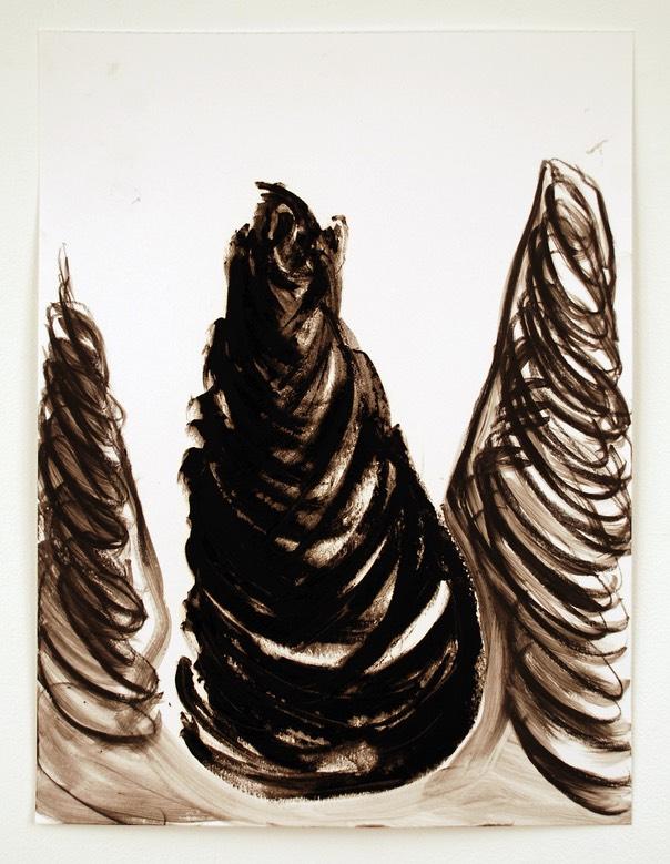 Gessoed Paper Oil Painting